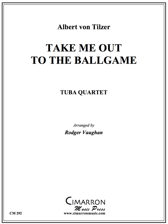 Tilzer - Take Me Out to the Ballgame - Tuba Quartet (EETT)