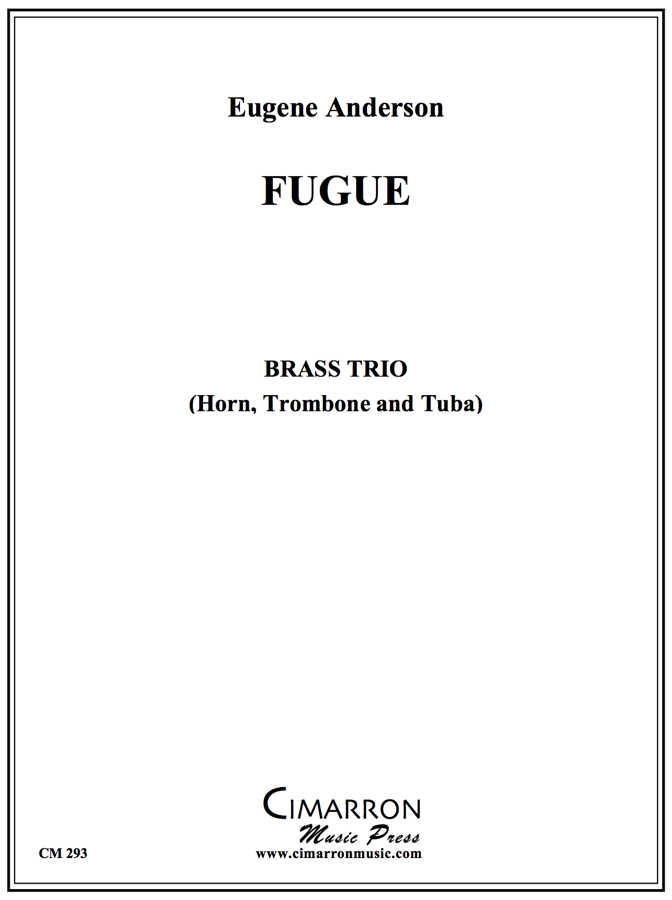 Anderson - Fugue for Low Brass Trio - Brass Trio