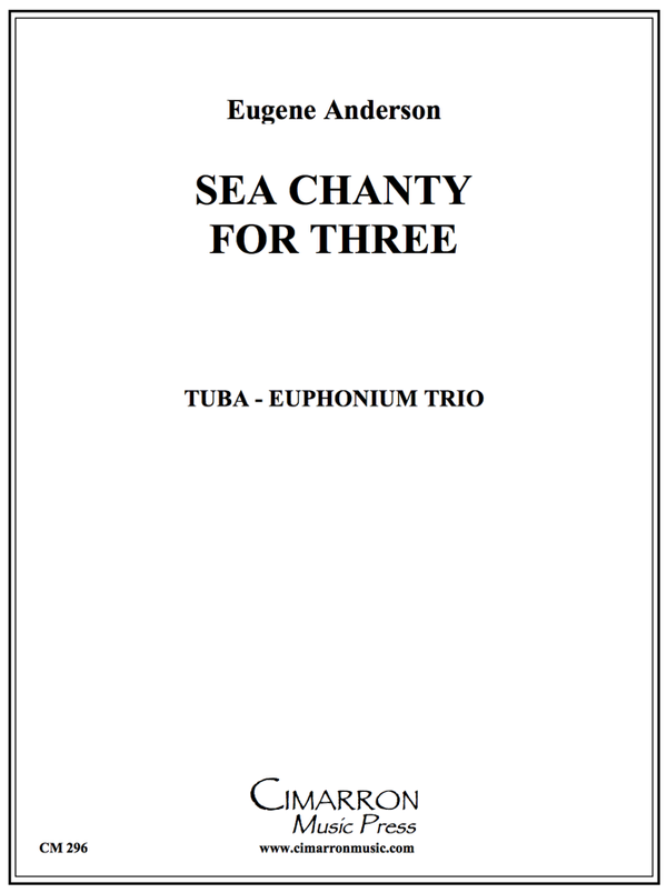 Anderson - Sea Chanty for Three - Euphonium/Tuba Trio