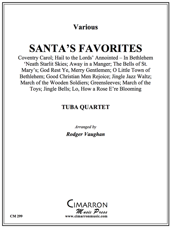 Various - Santa's Favorites - Tuba Quartet (EETT)