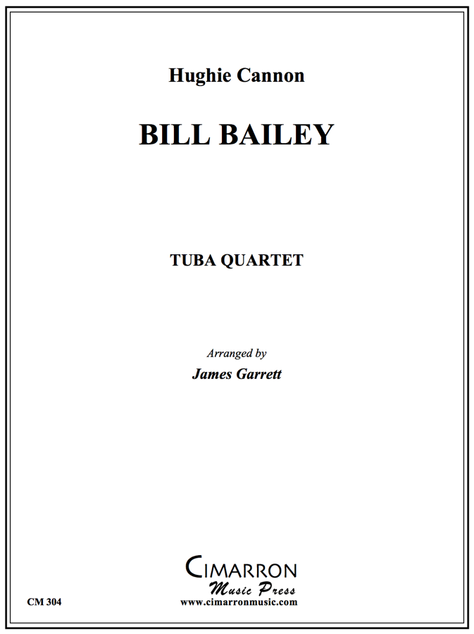 Traditional - Bill Bailey - Tuba Quartet (EETT)