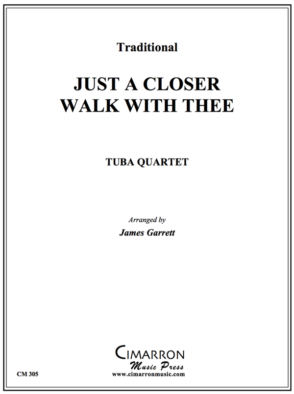 Traditional - Closer Walk With Thee - Tuba Quartet (EETT)