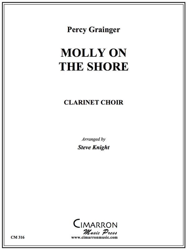 Grainger - Molly on the Shore - Clarinet Choir