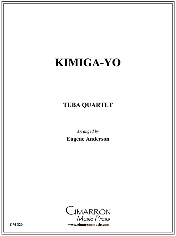 Traditional - Kimiga-Yo (Japan Anthem) - Tuba Quartet (EETT)