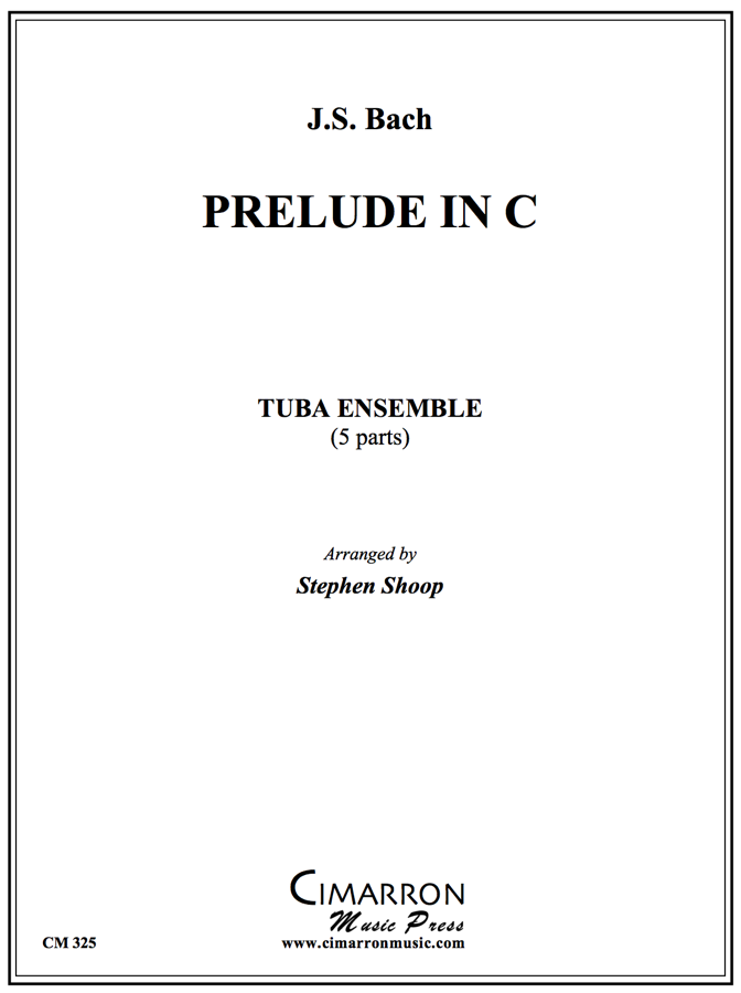 Bach - Prelude in C - Tuba Ensemble