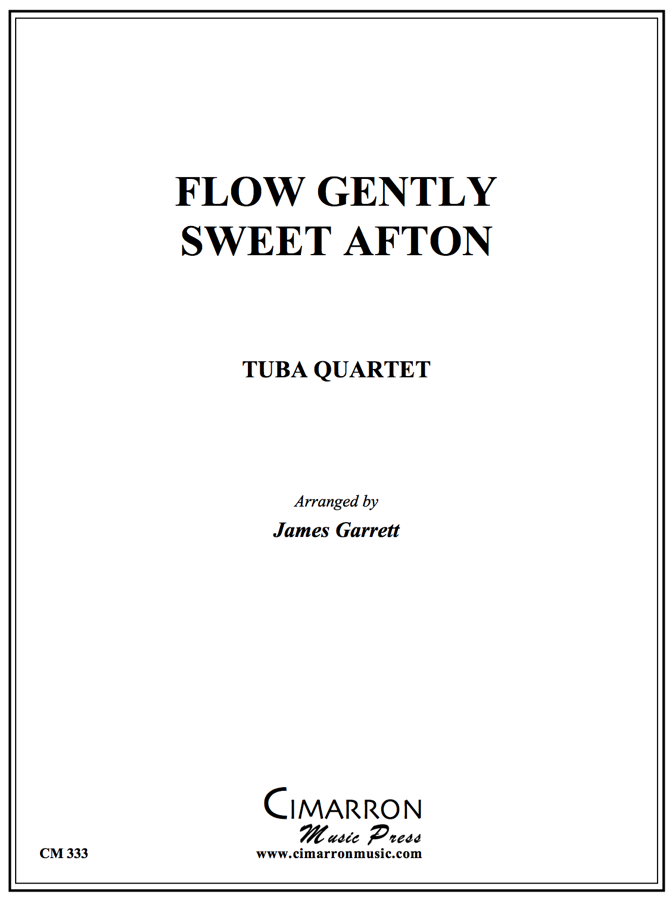 Traditional - Flow Gently Sweet Afton - Tuba Quartet (EETT)