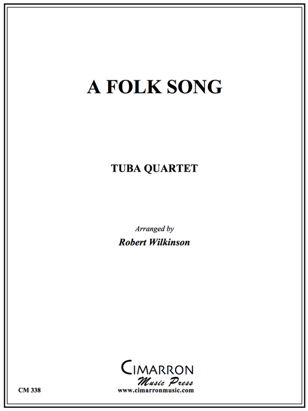 Traditional - A Folk Song - Tuba Quartet (EETT)