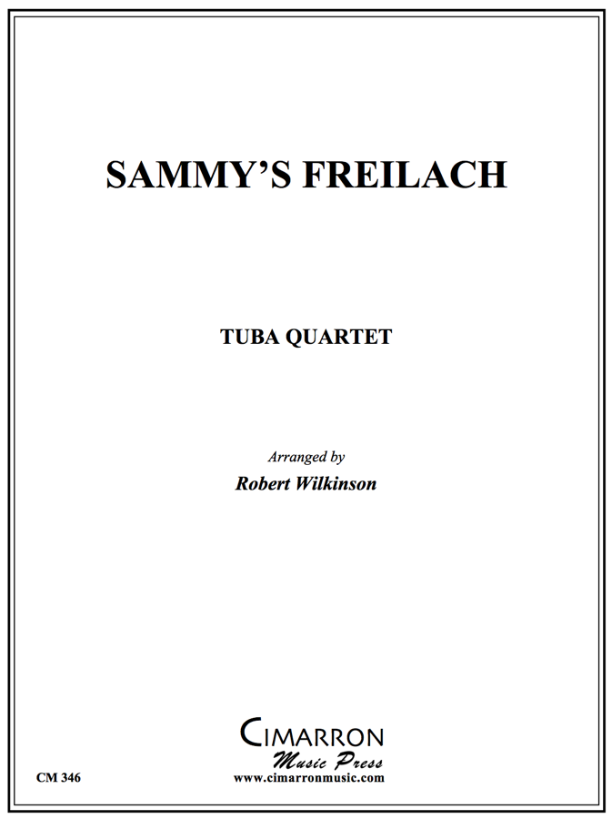 Traditional - Sammy's Freilach - Tuba Quartet (EETT)