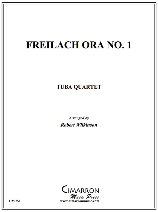 Traditional - Freilach Ora No. 1 - Tuba Quartet (EETT)