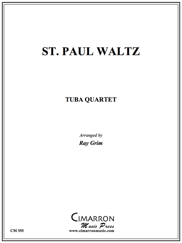 Traditional - St. Paul Waltz - Tuba Quartet (EETT)