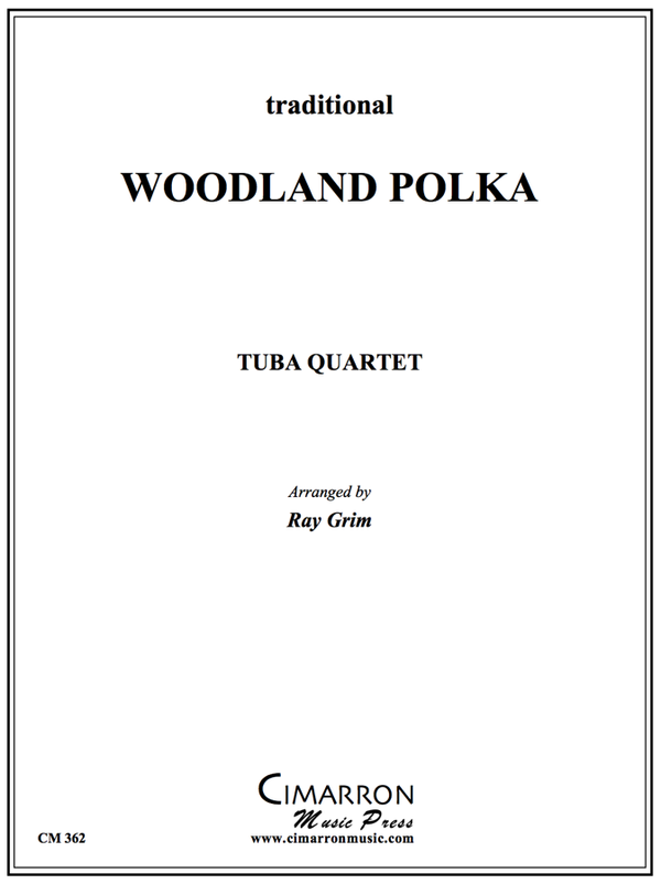 Traditional - Woodland Polka - Tuba Quartet (EETT)