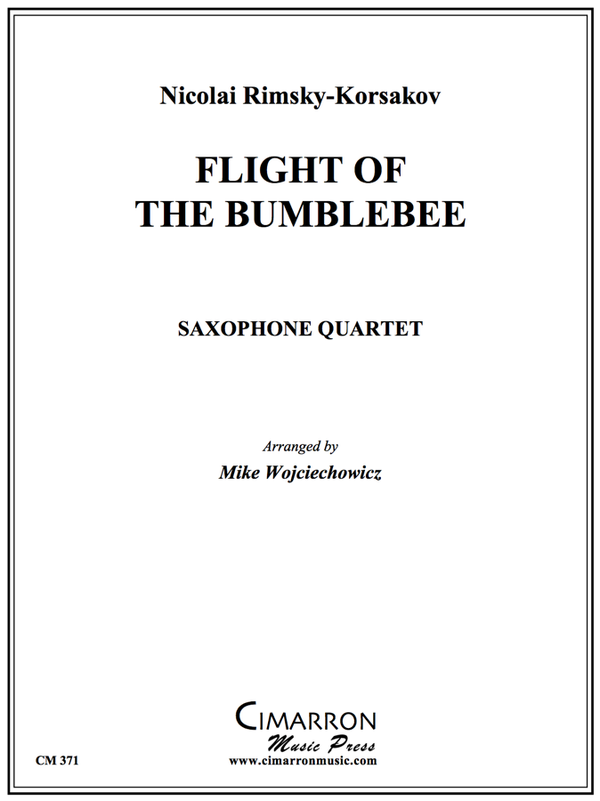 Rimsky - Flight of the BumbleBee - Saxophone Quartet(SATB)