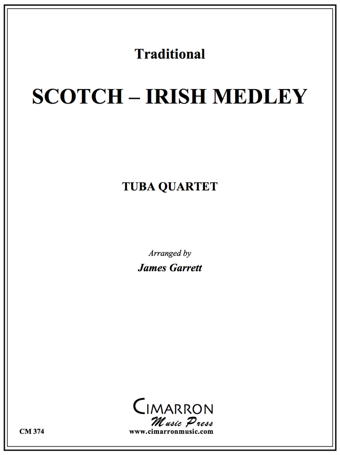 Traditional - Scotch-Irish Medley - Tuba Quartet (EETT)