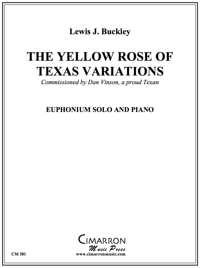 Traditional - Yellow Rose of Texas Variations - Euphonium and Piano