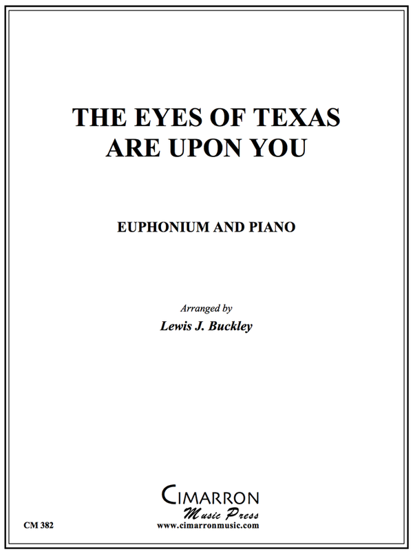 Traditional - Eyes of Texas - Short Encore - Trumpet or Euphonium and Piano