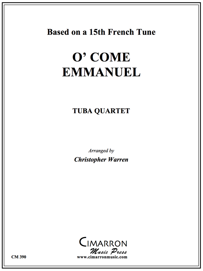 Traditional - O' Come Emmanuel - Tuba Quartet (EETT)
