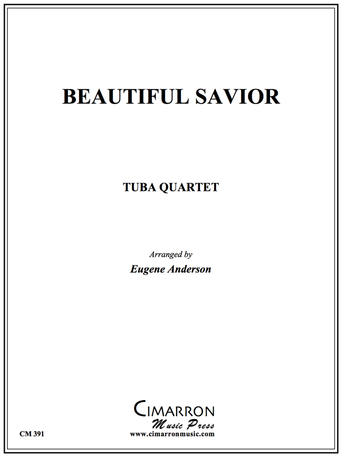 Traditional - Beautiful Savior - Tuba Quartet (EETT)
