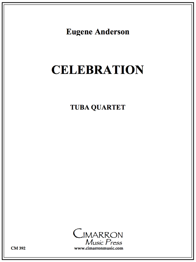 Anderson - Celebration - Tuba Quartet (EETT)