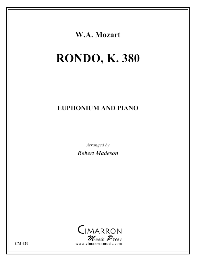 Mozart - Rondo, K. 380 - Euphonium and Piano