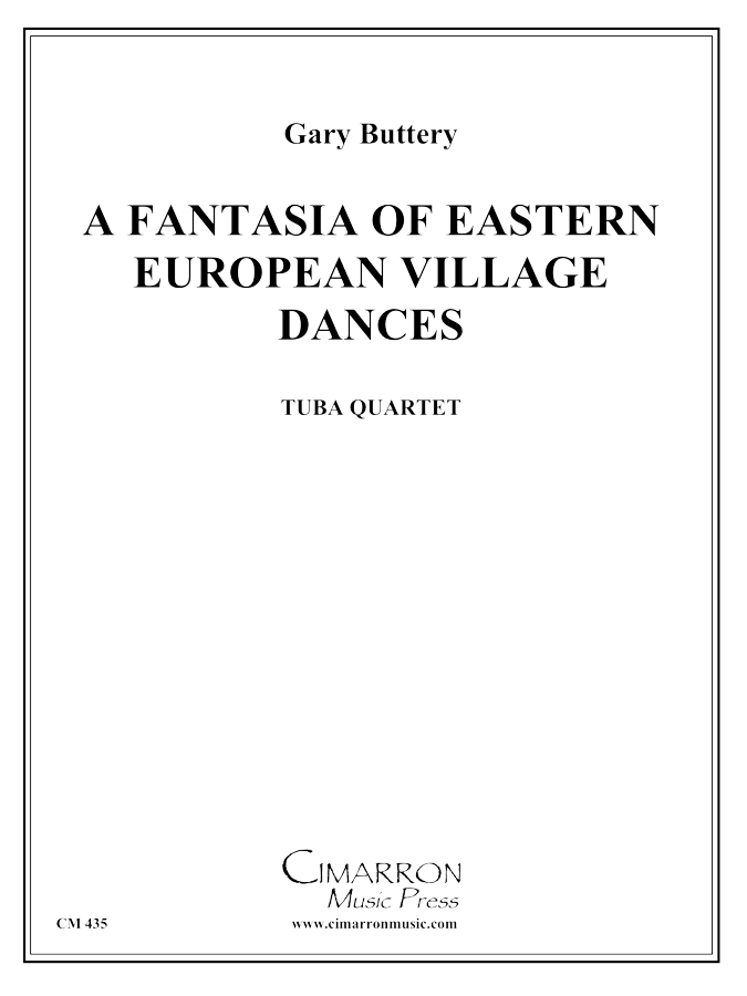 Traditional - Fantasia of Eastern European Village Dances - Tuba Quartet (EETT)