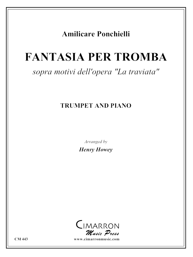 "Ponchielli- Fantasia ""La Traviata"", Op. 146 - Trumpet and Piano"