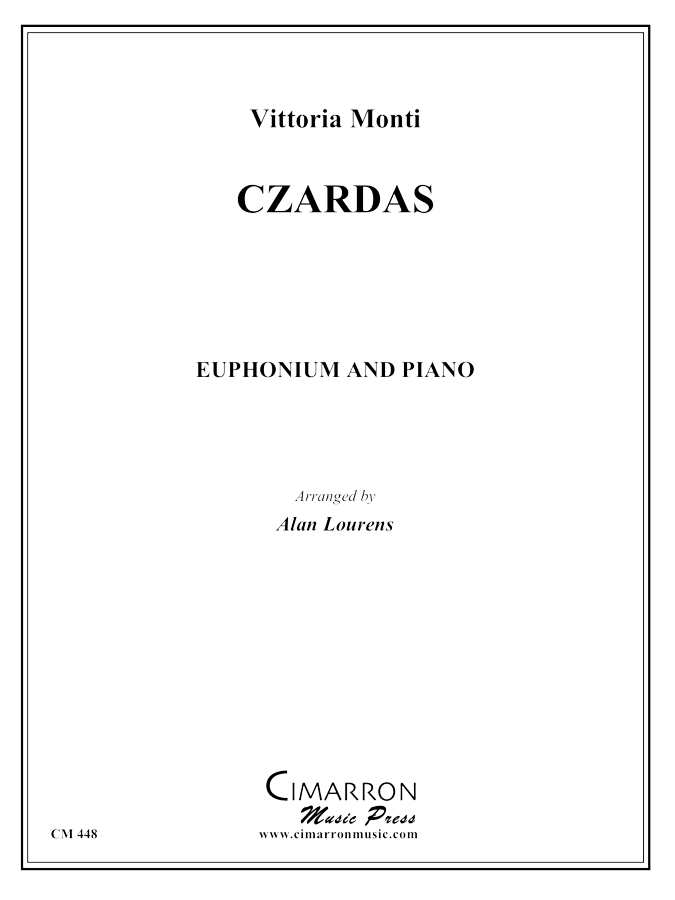 Monti - Czardas - Euphonium and Piano