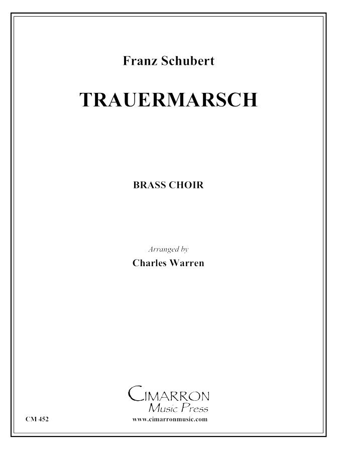 Schubert - Trauermarsche, Op. 55 - Brass Ensemble