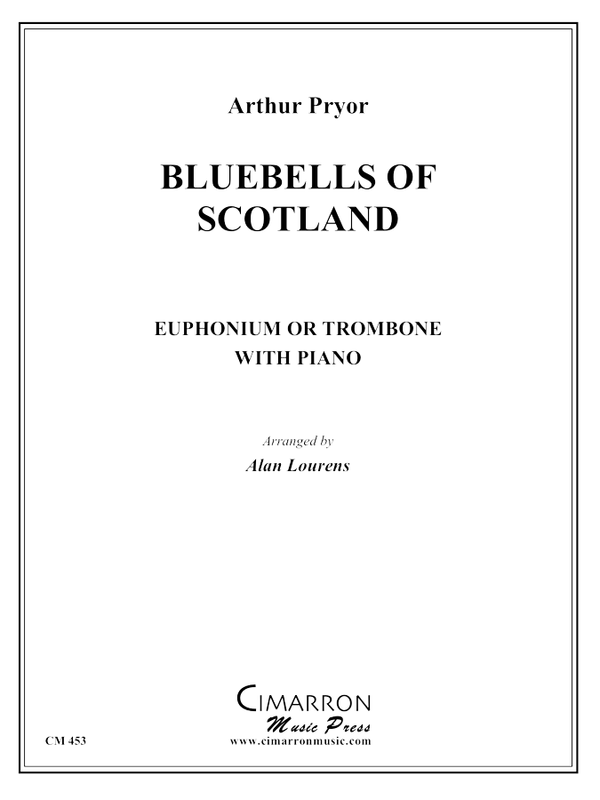 Pryor, A - Bluebells of Scotland - Euphonium or Trombone and Piano
