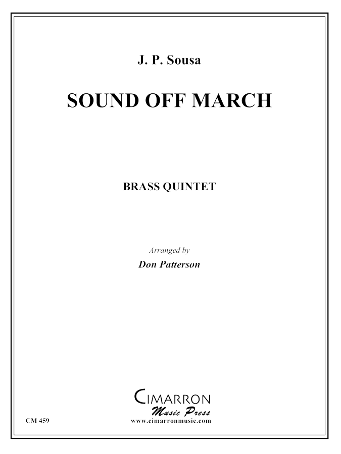 Sousa - Sound Off - Brass Quintet