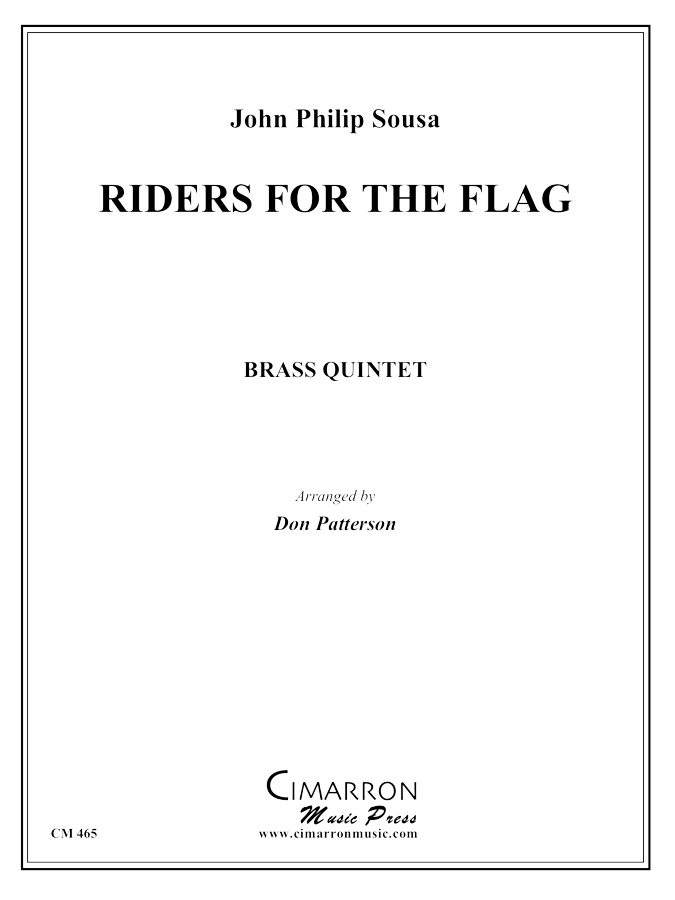 Sousa - Riders for the Flag - Brass Quintet