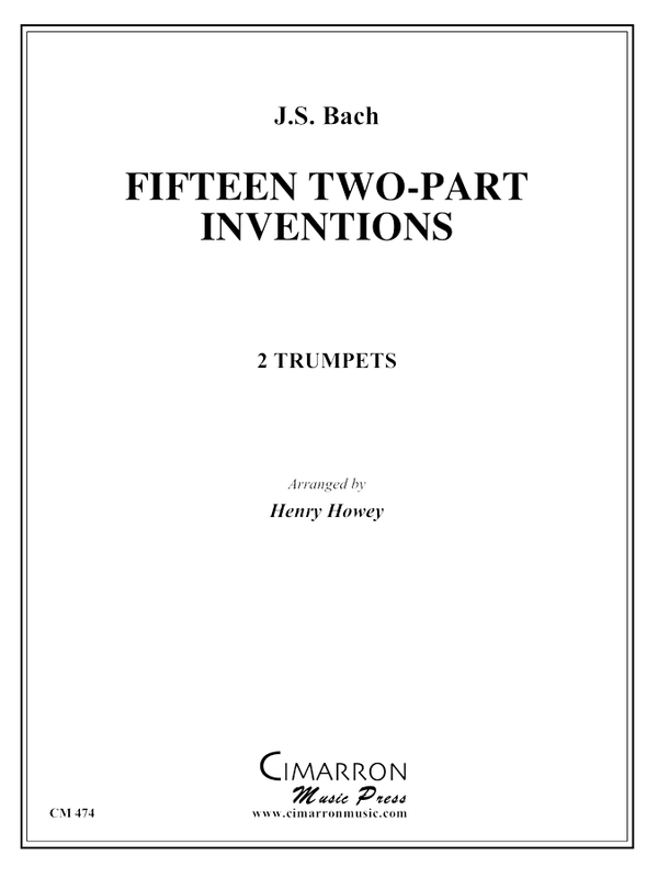 Bach - 15 Two-Part Inventions - Trumpet Duo