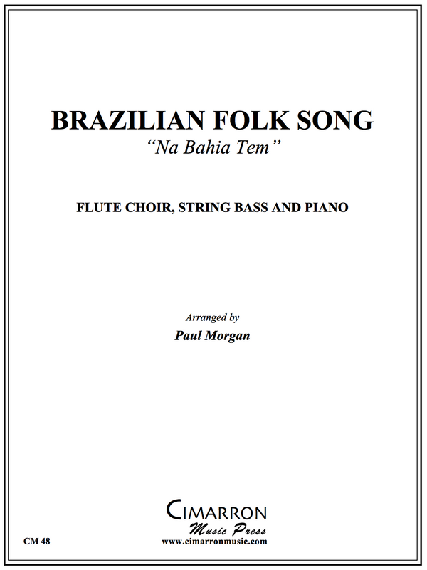 Trad - Brazilian Folk Song - Flute Ensemble, String Bass And Piano