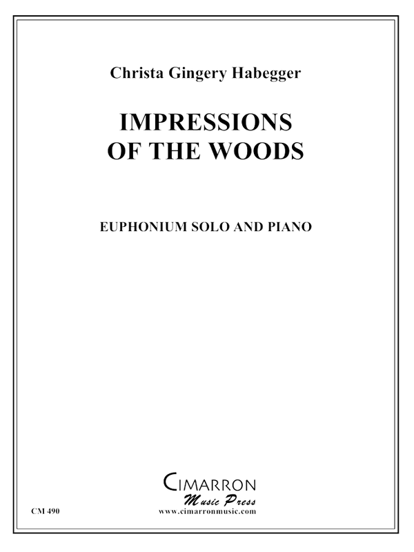 Habegger - Impressions of the Woods - Euphonium and Piano