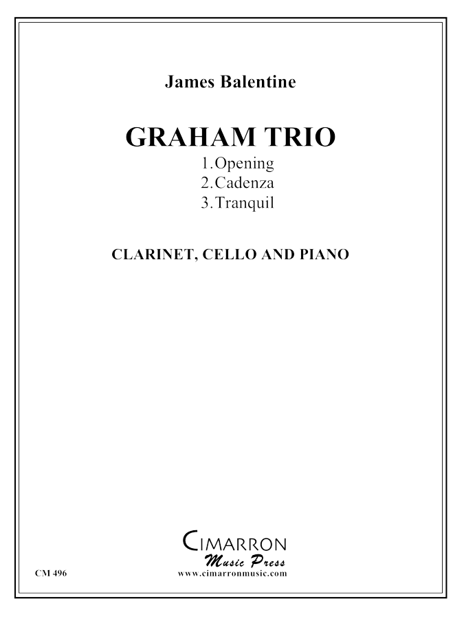 Balentine, Scott - Graham Trio - Mixed Ensemble