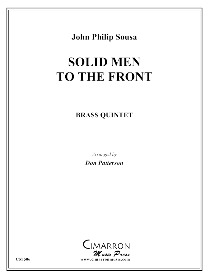 Sousa - Solid Men to the Front - Brass Quintet