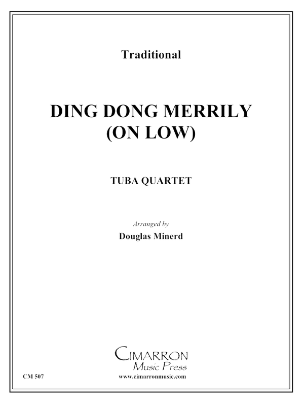 Traditional - Ding Dong, Merrily on (Low) - Tuba Quartet (EETT)
