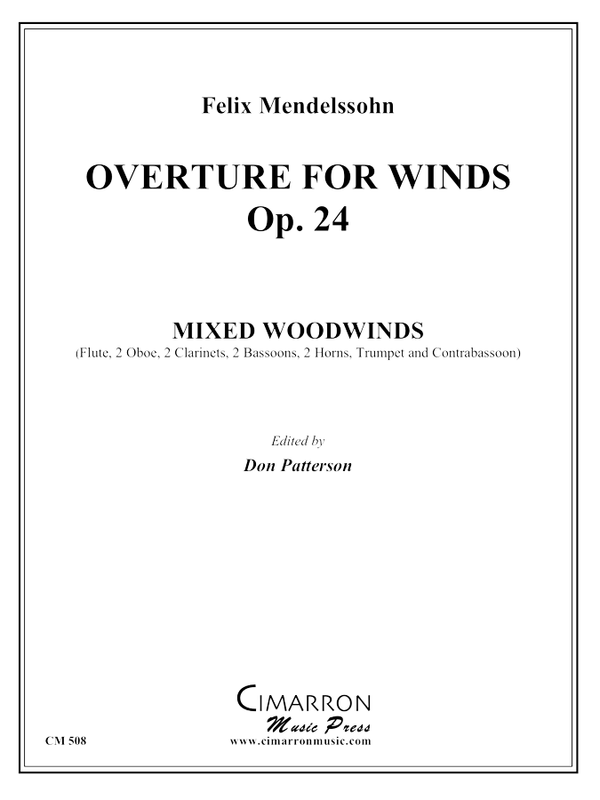 Mendelssohn - Overture for Winds, op. 24 - Mixed Ensemble
