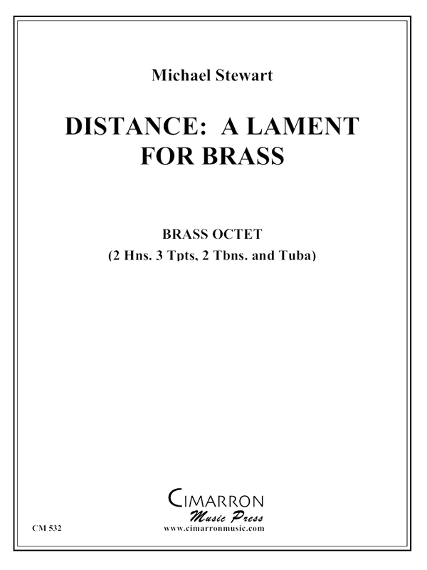 Stewart - Distance: Lament for Brass - Brass Ensemble