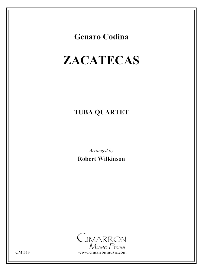 Traditional - Zacatecas March - Tuba Quartet (EETT)