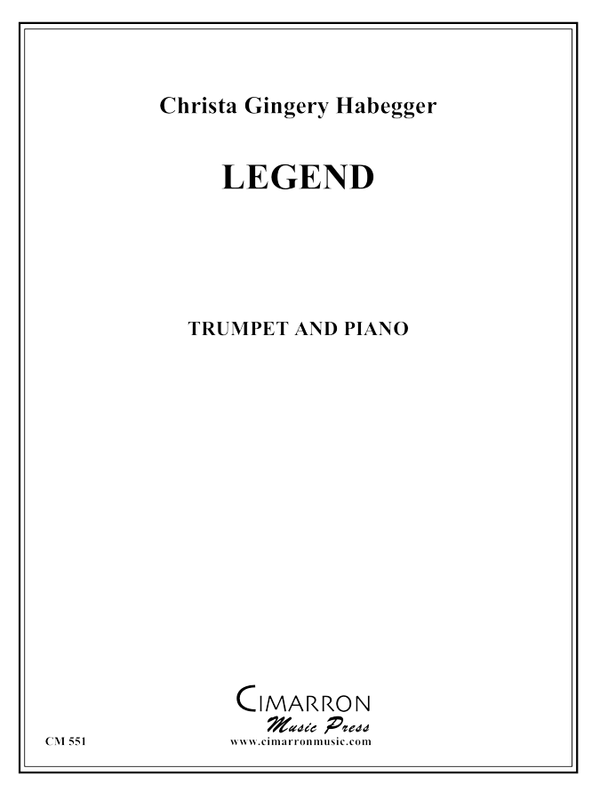 Habegger - Legend for Trumpet - Trumpet and Piano