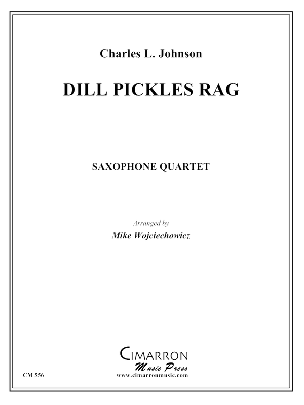 Johnson - Dill Pickle - Saxophone Quartet (SATB)