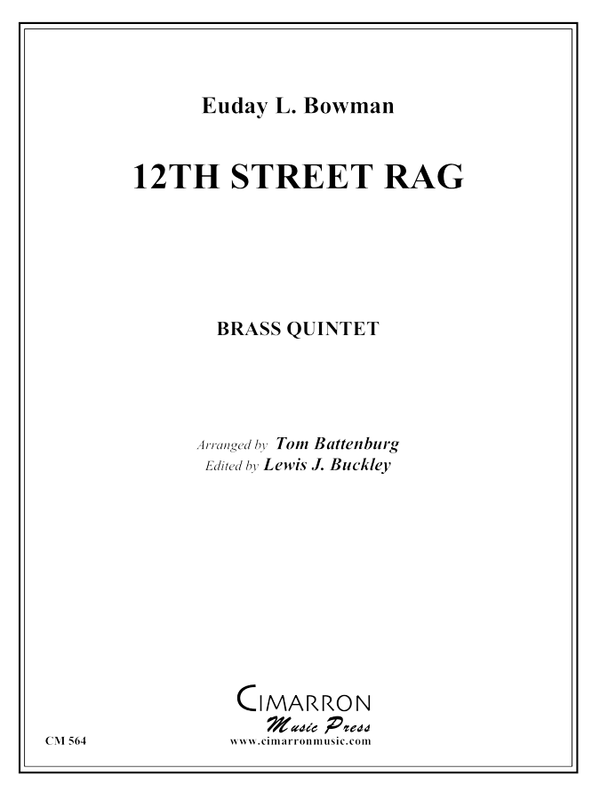 Bowman, E - 12th Street Rag - Brass Quintet