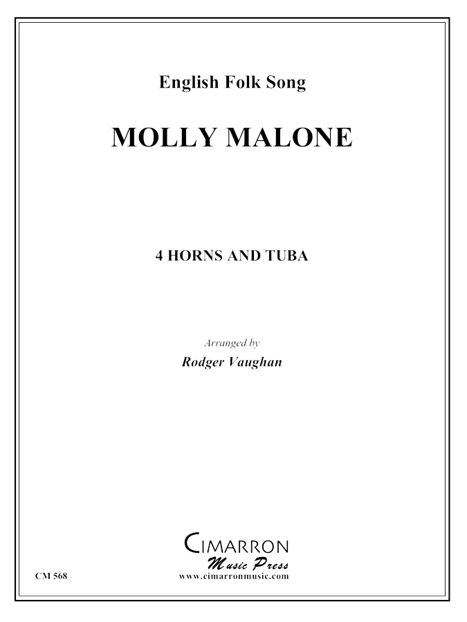 Traditional - Molly Malone - Horn Quartet and Tuba