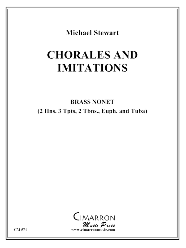 Stewart - Chorales and Imitations - Brass Ensemble