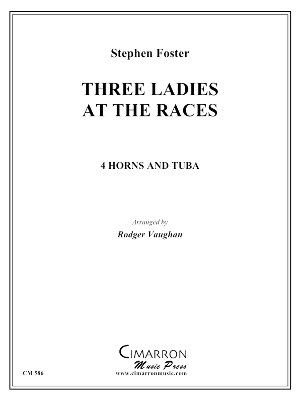 Foster - Three Ladies at the (Camptown) Races - Horn Quintet