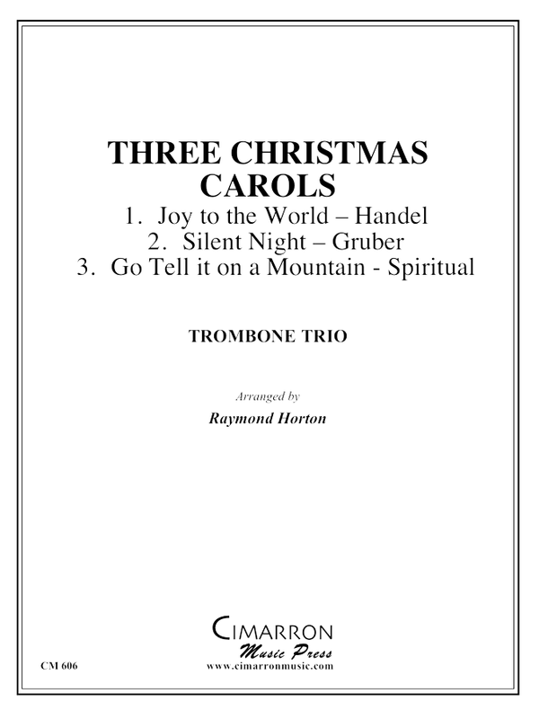 Various - Three Christmas Carols - Trombone Trio