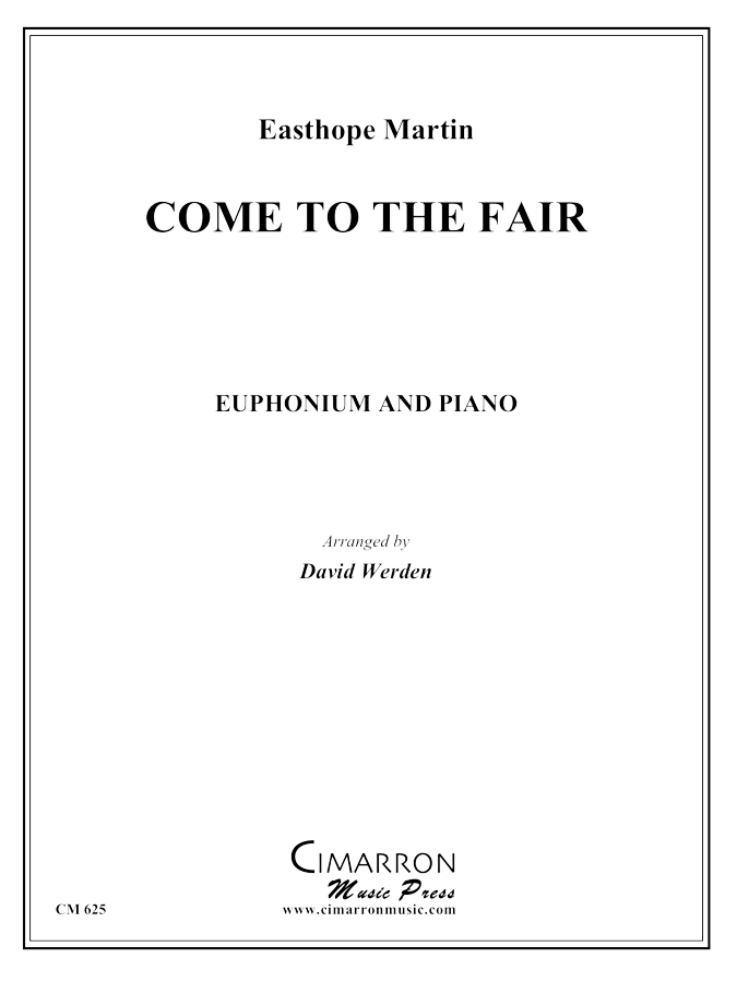 Martin - Come to the Fair - Euphonium and Piano