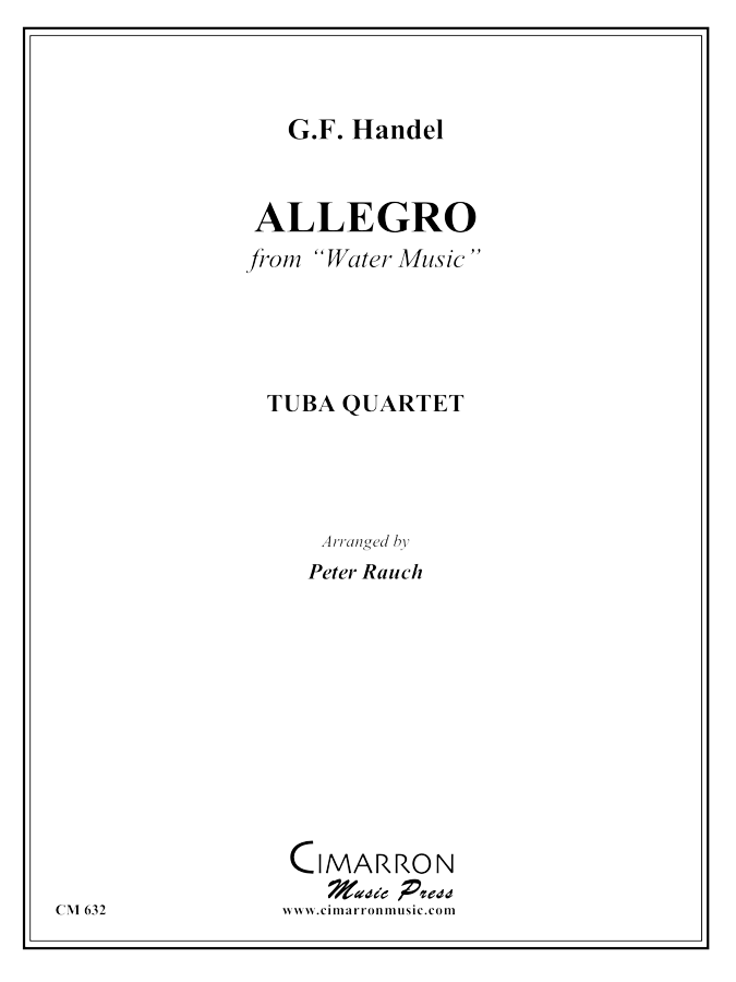 Handel - Allegro from Water Music - Tuba Quartet (EETT)