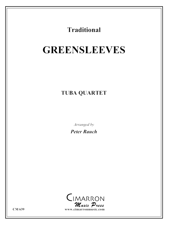 Traditional - Greensleeves - Tuba Quartet (EETT)