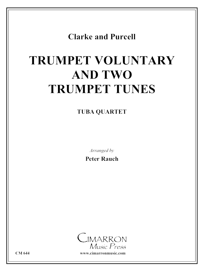 Purcell/Clark - Trumpet Voluntary and 2 Trumpet Tunes - Tuba Quartet (EETT)